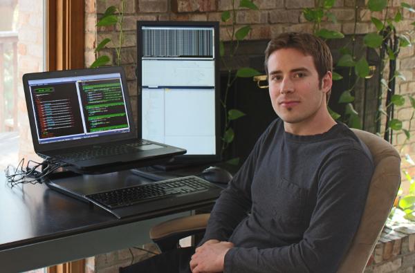 Jon Shafer (At Desk)