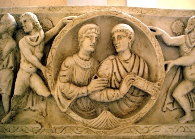 Image result for Ancient Roman Friendship